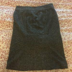 GAP tweed wool skirt
